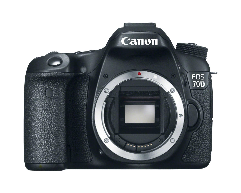 Canon EOS 70D Front No Lens
