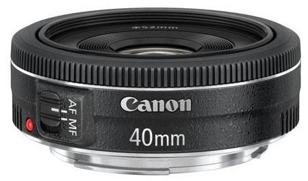 Canon EF 40mm f/2.8 Pancake Lens