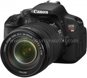 Canon EOS Rebel T4i / 650D Leaked Image