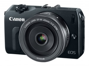 Canon EF-M 22mm f2 Pancake Lens On EOS M Camera